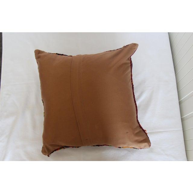 turkish kilim pillow cover 16 x 16 chairish. Black Bedroom Furniture Sets. Home Design Ideas