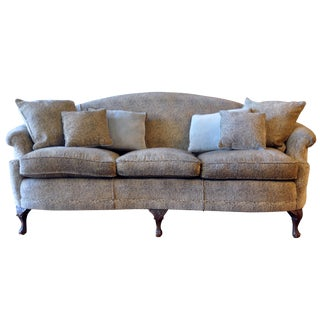Antique Chippendale Revival Style Sofa