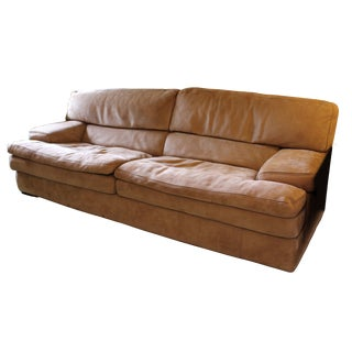 Roche-Bobois Paris Il Teatro Straight Arm Sofa