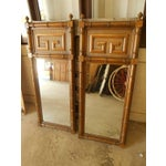 Image of Vintage Dixie Shangri-La Greek Key Mirrors -A Pair