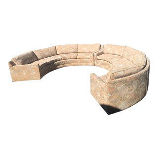 Milo Baughman Mid-Century Circular Sofa
