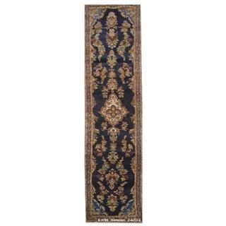 Vintage Persian Hamedan Rug - 2'4'' x 13'2''