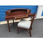 Image of Ficks Reed Demilune Writing Desk