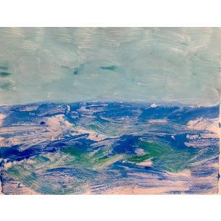 """""""Calm Sky"""" Original Handmade Print"""