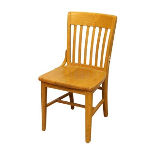 Single Wooden Chair by Jasper Seating Company
