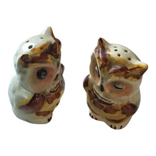Vintage Winking Owl Salt & Pepper Shakers
