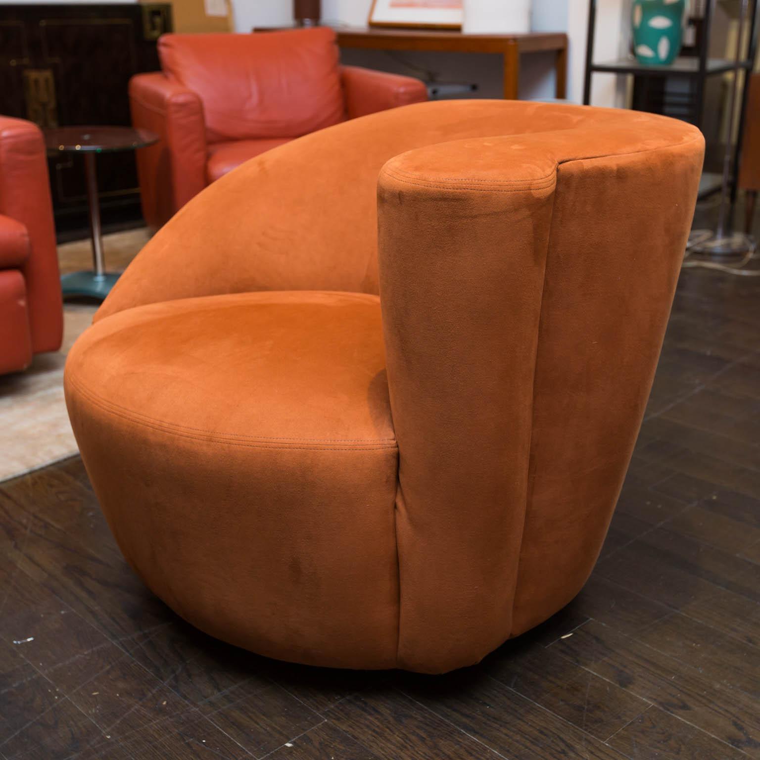 Vladimir Kagan Nautilus Chairs   A Pair   Image 5 Of 9