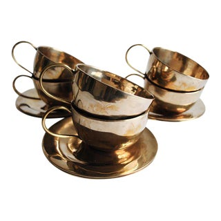 Vintage Cups & Saucers - Set of 6