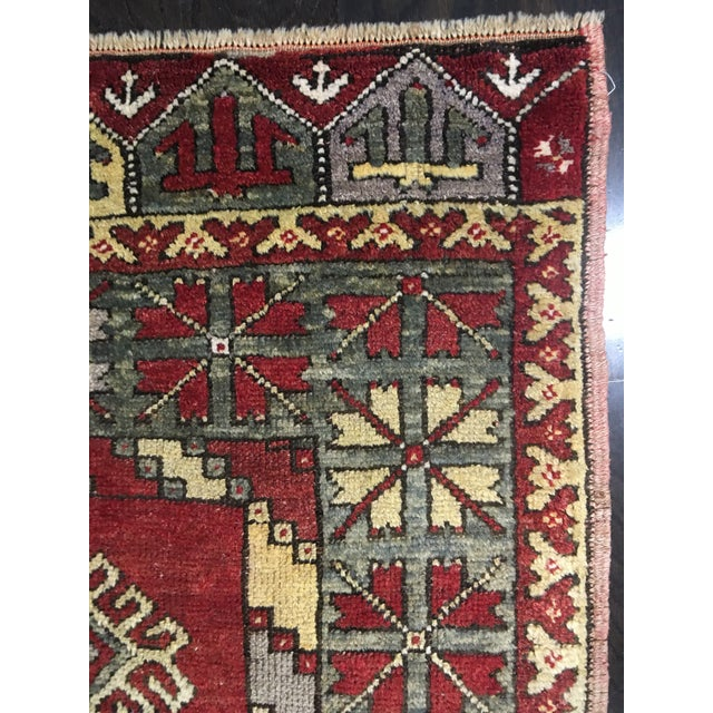 "Vintage Turkish Medallion Runner - 5'x11'6"" - Image 8 of 9"