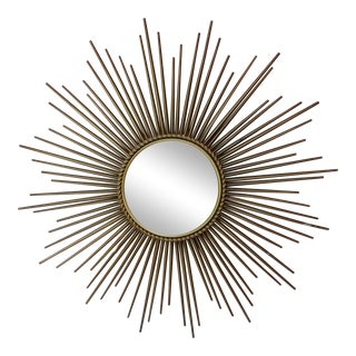 Chaty Vallauris Sunburst Convex Metal Mirror