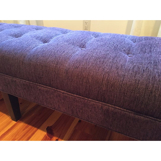 Mitchell Gold + Bob Williams Tufted Bench - Image 6 of 7