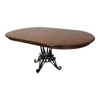 Nichols & Stone Ironwood Pedestal Table