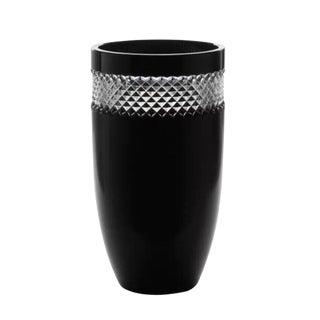 John Rocha Large Crystal Hand Made Vase