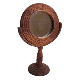 Vintage Wood Mirror