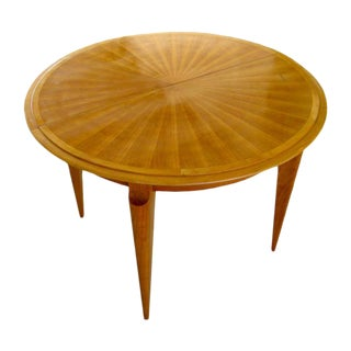 French Cherrywood Circular Dining Table