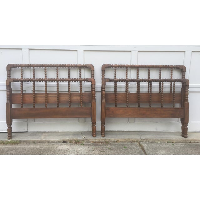 Antique Jenny Lind Twin Beds Pair Chairish