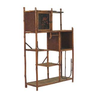 Victorian Bamboo Shelf