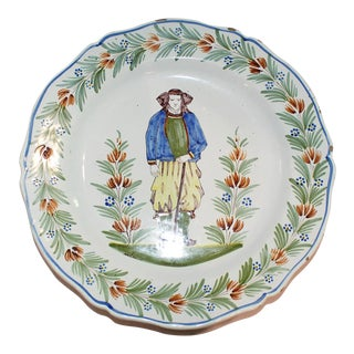 Henriot Quimper Cake Plate