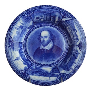 Rowland & Marsellus Staffordshire Historical Shakespeare Plate