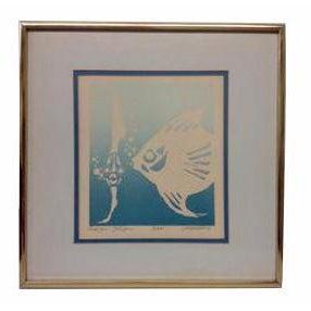 Joy Lounsbury Lithograph Print