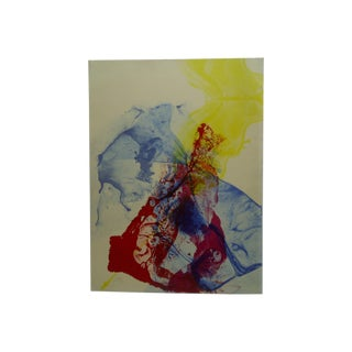 """""""Explosion"""" Abstract Signed Print"""