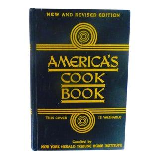 """America's Cook Book, 1941"" Hardcover Book"