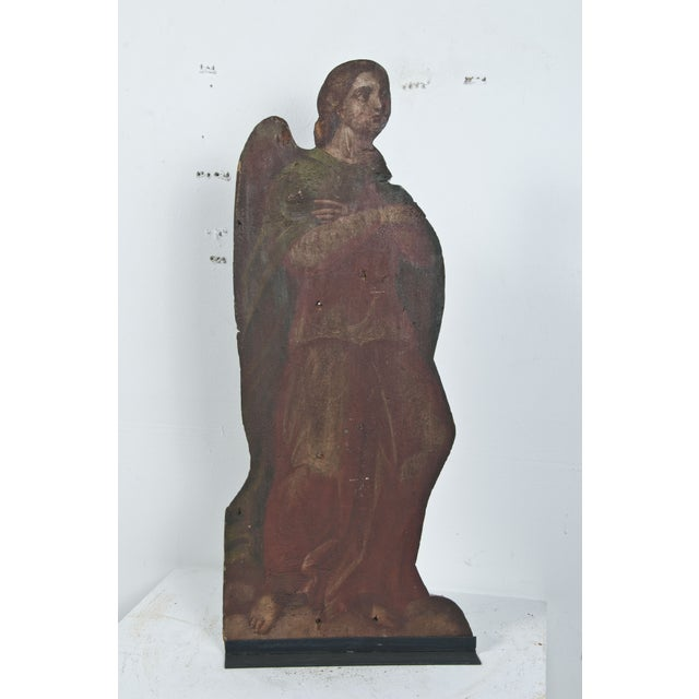 Image of 19th Century Angel Painting