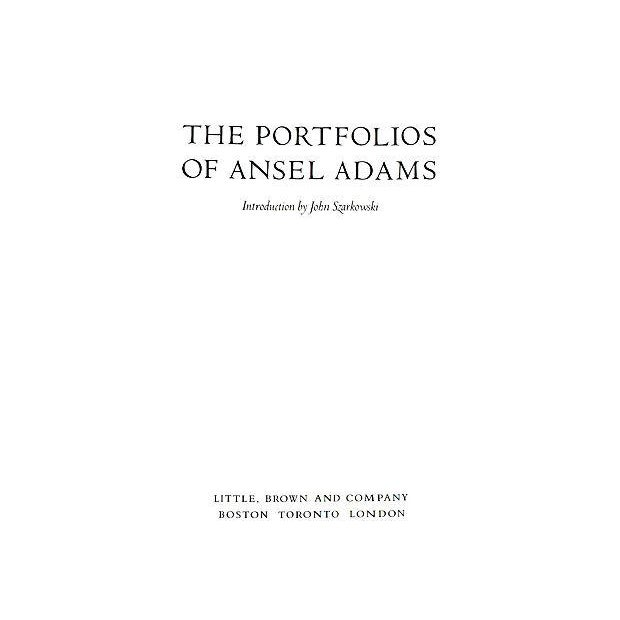 Portfolios of Ansel Adams, First Edition - Image 2 of 4