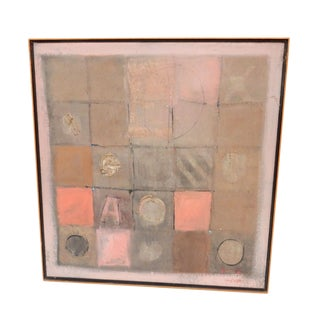Jose Guedez Framed and Signed Oil Painting