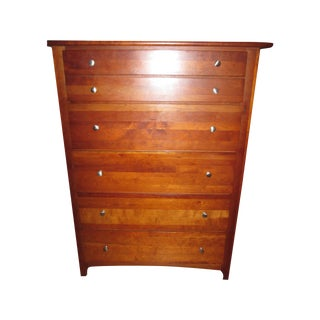 Stanley Solid Wood Six Drawer Chest
