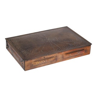 Early-Mid 20th Century Copper Plated Box