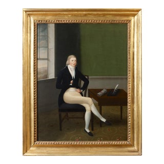 Portrait by William Joseph Weaver, Anglo-American