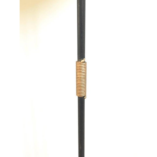 French Metal Tri-Leg Floor Lamp - Image 7 of 8