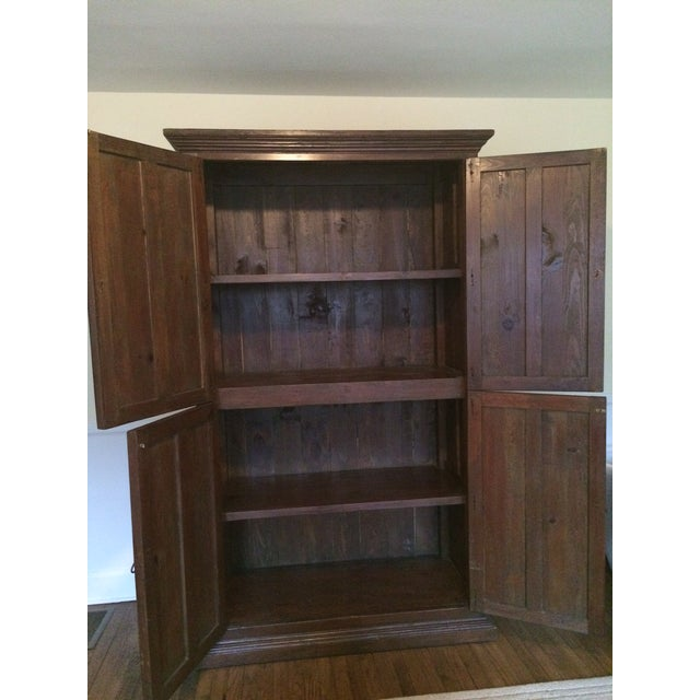Solid Wood Wardrobe Cabinet - Image 3 of 3
