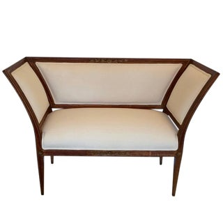 French Directoire Settee Loveseat