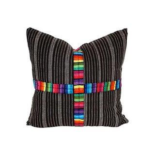 Guatamalan Textile Pillow 24x24