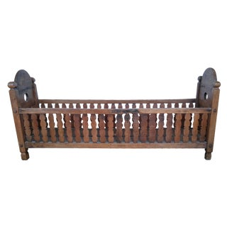 Antique Wooden Cradle