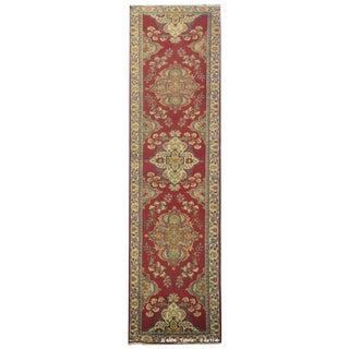 Vintage Persian Tabriz Rug - 2'6'' x 11'6''