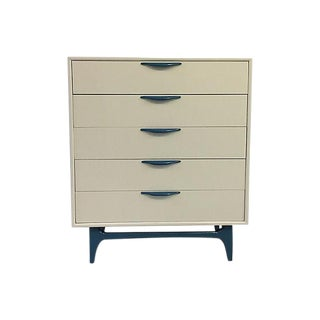 Mid-Century Modern Sculpted Highboy