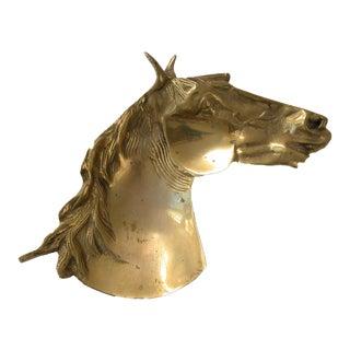 Heavy Brass Horse Dish