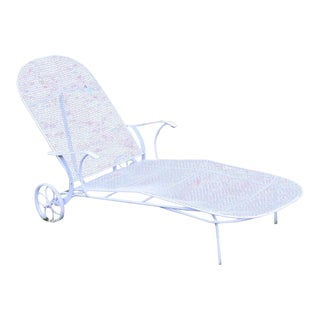 Russell Woodard Sculptura Patio Chaise Lounge