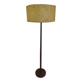 Vintage Teak Danish Modern Floor Lamp