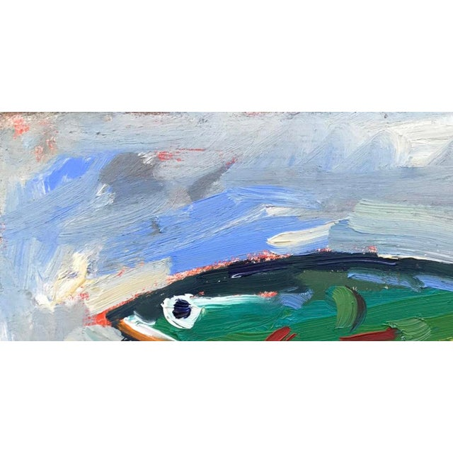 """Green Fishing Lure"" Painting - Image 10 of 11"