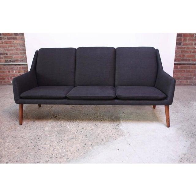 Danish Modern Sofa by Erik Ostermann and H. Høpner Petersen - Image 2 of 9