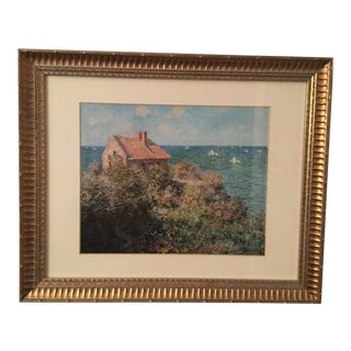"Claude Monet ""Fisherman's Cottage"" Print"