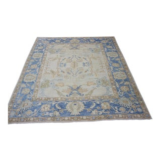 Turkish Oushak Area Rug - 8′1″ × 9′7″