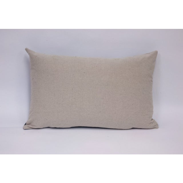 Wool Felt & Canvas Pillow - Image 3 of 4