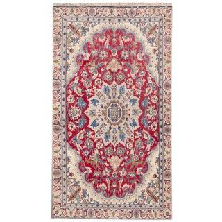 """Apadana Vintage Persian Isfahan Rug -- 3'6"""" x 6'2"""""""