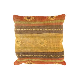 Vintage Kilim Pillow from Turkey