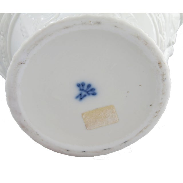 White Capodimonte Italian Porcelain Urn - Image 6 of 10